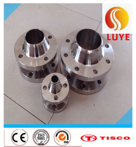 ASTM/AISI 316ti 316 Stainless Steel Plate Flange pictures & photos