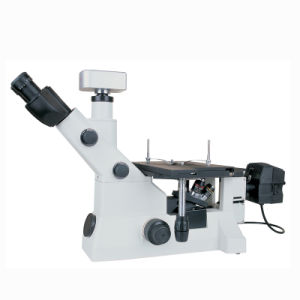 Bright and Dark Field Trinocular Advanced Inverted Metallurgical Microscope pictures & photos