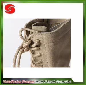 Genuine Leather Military Combat Desert Boots pictures & photos
