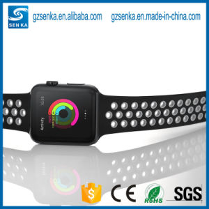 2017 New Products Silicone Band for Apple Watch Sport Strap pictures & photos