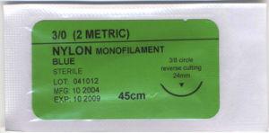 Disposable Sterilized Surgical Monofilament Nylon Sutures