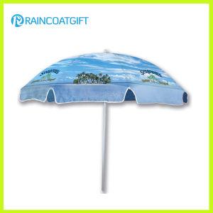 Brand Tarpaulin Vinyl PVC Fabric Promotional Beach Parasol Beach Umbrella pictures & photos