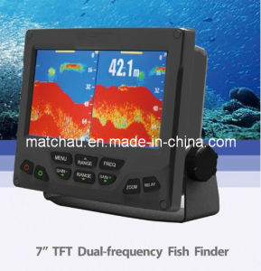 7 Inch TFT Dual-Frequency Fish Finder pictures & photos