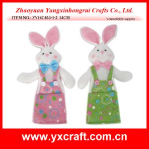 Easter Decoration (ZY14C863-1-2) Bunny Shape Easter Design pictures & photos