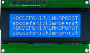 20x4 Flexible LCD Module