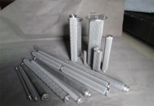 Stainless Steel Metal Pleated Oil Candle Filter Cylinder / Filter Element pictures & photos
