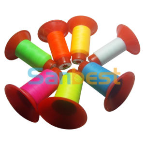 Polyester Glow-in-Dark Embroidery Thread with High Strength pictures & photos