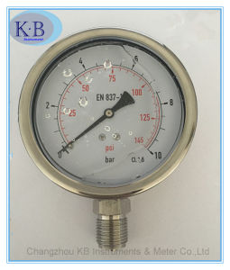 All Stainles Steel Pressure Gauge Glycerine Oil Filled pictures & photos