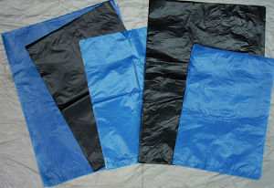 HDPE Plastic Colorful Flat Side Seal Bag pictures & photos
