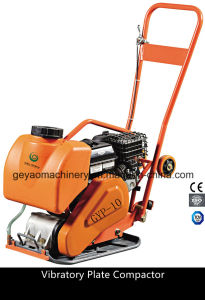 Concrete Vibratory Reversible Plate Compactor with Water Tank Gyp-10 pictures & photos