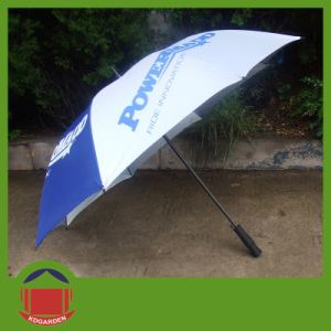 190t Nylon Fabric One Color Printed Golf Umbrella pictures & photos