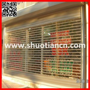 Transparent Polycarbonate Crystal Rolling Shutter Door (ST-001) pictures & photos