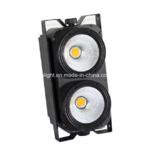 2 Eyes COB RGBWA 5in1 LED Pixel Blinder Light pictures & photos