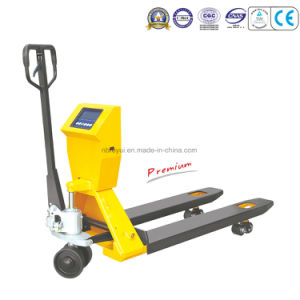 Scale Pallet Truck (2T) pictures & photos