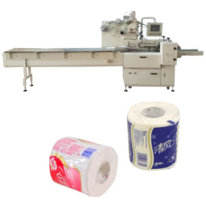 Tissue Roll Packing Machine for Toilet Paper Wrapping pictures & photos