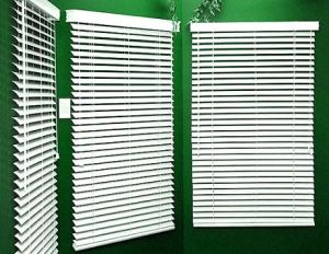 Basswood Venetian Blinds With Manual Inside Outside For Window Blinds