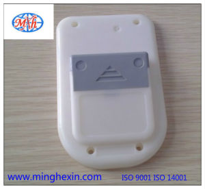 White Plastic Electronic Equipment Bottom Housing pictures & photos