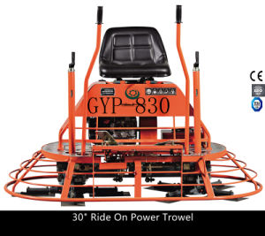 Concrete Ride-on Power Trowel Gyp-830 with Honda Gx390 Engine pictures & photos
