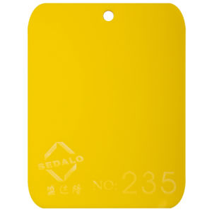 Yellow Cast Acrylic Sheet (SDL-215) pictures & photos