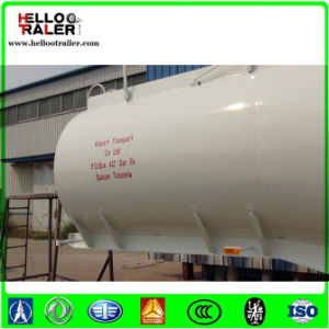 China Manufacturer 45000 Liters Oil Fuel Tanker Semi Trailer pictures & photos
