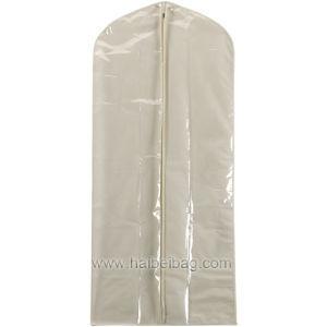 PEVA /Canvas Garment Cover for Dresses or Mens Suits (HBGA-21) pictures & photos