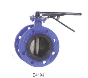 Resilient Centerline Wafer Butterfly Valve D41X4 pictures & photos