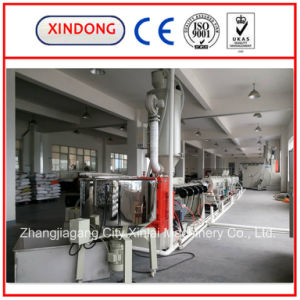 Large Diameter Hollow Wall Winding Pipe Production Line pictures & photos