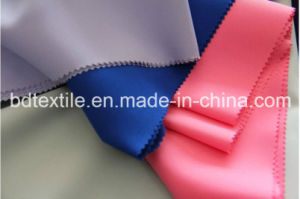 High Quality 300dx300d 100%Pes Mini Matt Fabric for Table Cloth, Workwear, Garment pictures & photos