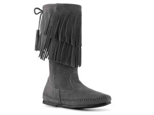 Ladies Winter Shoes Women Suede Warm Ankle Boots (HT1007-1) pictures & photos