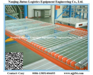 Heavy Duty Welded Wire Mesh Deck for Storage Pallet Rack pictures & photos