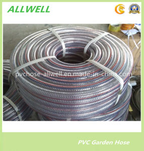 "PVC Plastic Spring Spiral Steel Wire Water Hose 1"" pictures & photos"