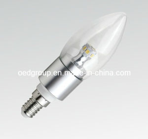 Dimmable 4W SMD Candle Bulb with Aluminum Radiator pictures & photos