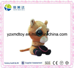 Lovely and Lively 20cm Puss in Boots Plush Cat Toy pictures & photos
