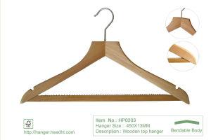 Natural Regular Wooden Clothes Garment Laudry Coat Hangers pictures & photos