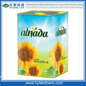 10L Sunflower Oil Tin pictures & photos