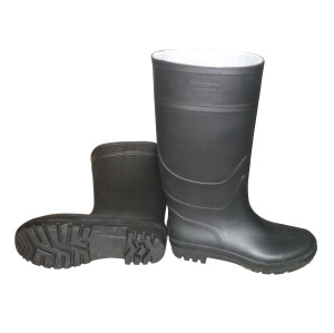 Work Rain Boots (black upper/Black Sole) . pictures & photos