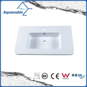 Rectangular Single Lever Artificial Marble Sink Tops Acb0806 pictures & photos