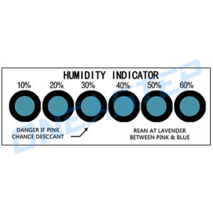 PCB Humidity Indicator Cards (HIC)