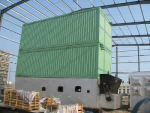 3500kw Chain Grate Wood Pellet Fired Thermal Oil Boiler (YLW3500MH)