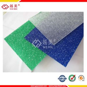 Polycarbonate Embossed Sheet Clear Color Tint Sheet Middle East Decoration pictures & photos