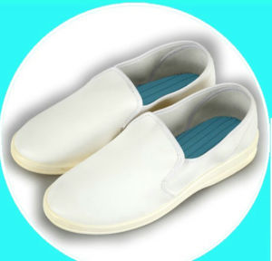 PVC ESD/Anti-Static Work Shoes for Cleanroom pictures & photos
