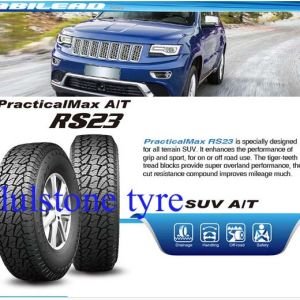 SUV UHP Car Tyre, Tubeless PCR Tyre, Radial Passager (245/75R17)