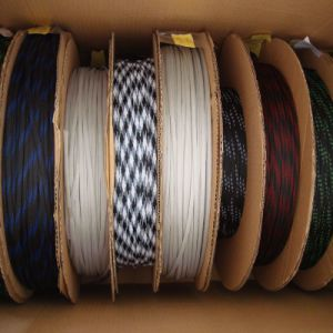 Braided Cable Polyester Textile Sleeves pictures & photos