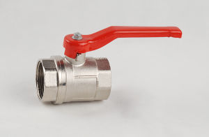 Brass Nickle Plated Thread Ball Valve (YD-BV85)