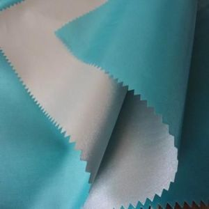 Waterproof Breathable PU Bonded Polyester Fabric for Mattress Protector