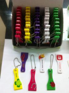 Plastic Scraper Keychain (QG-0207)