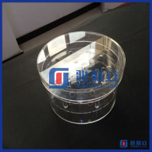 Custom Clear Acrylic Round Flower Box pictures & photos