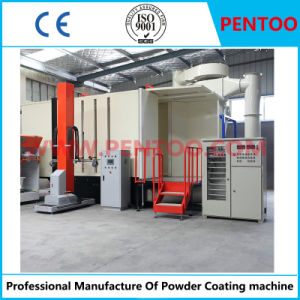 Powder Coating Booth for Painting Fence with Good Quality pictures & photos
