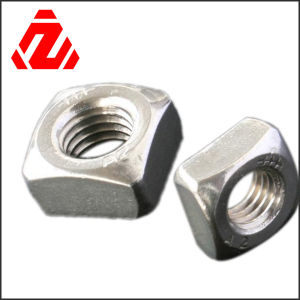 304 Stainless Steel Square Nut pictures & photos