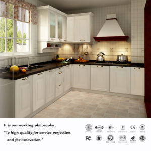 European Classical Style PVC Kitchen Cabinet (ZH03) pictures & photos